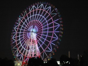 Ferris wheel of Odaiba